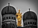 Bild der Frauenkirche in München als Beispiel für lokale SEO