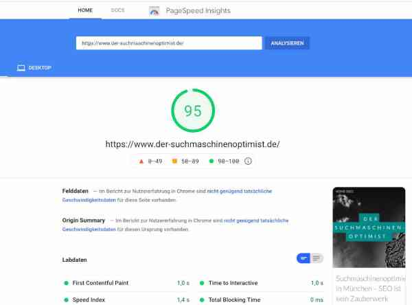 Ich habe meine Website überarbeitet – und schneller gemacht. Warum ist das gut für die Suchmaschinenoptimierung?